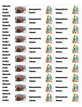 Classroom Library Labels Avery 5160