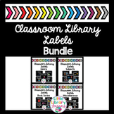 Classroom Library Labels BUNDLE