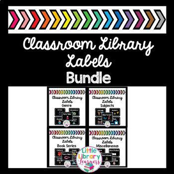 Classroom Library Labels BUNDLE