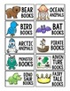 Classroom Library Labels - White