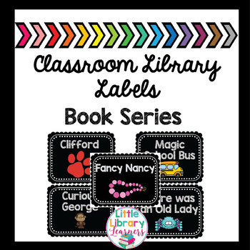 Classroom Library Labels- Book Series Labels