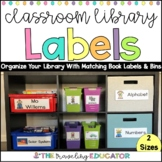 Classroom Library Labels   Book and Bin Labels