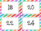 Classroom Library Labels: By Level (Stripes)