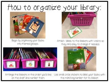 Classroom Library Labels: Chevron