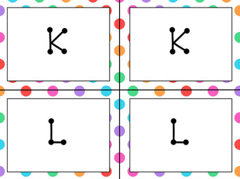 "Classroom Library Labels: ""Dots"" Design Bundle"