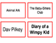 Classroom Library Labels [EDITABLE]
