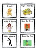 Classroom Library Labels- Early Elementary Classroom