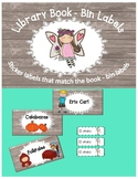 Classroom Library Labels  (English-Spanish)