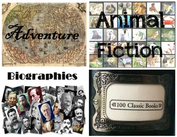 Classroom Library Labels - Genres