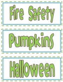 Classroom Library Labels - Green Font
