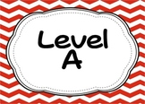 Classroom Library Labels (Leveled Library A-Z)