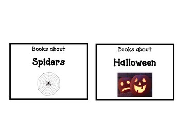 Classroom Library Labels - Miscellaneous Categories