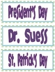 Classroom Library Labels - Purple Font