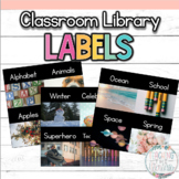 Classroom Library Labels (Real Photographs!)