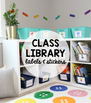 Classroom Library Labels & Stickers