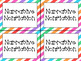 Classroom Library Labels: By Genre (Stripes)