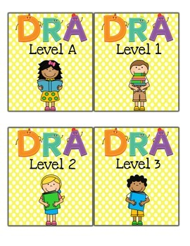 Classroom Library Labels - Using DRA Leveling