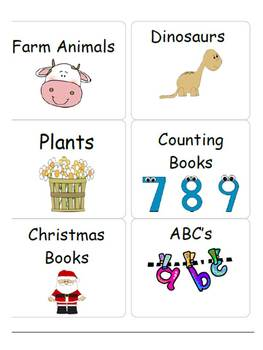 Classroom Library Labels and More for the Primary Classroom