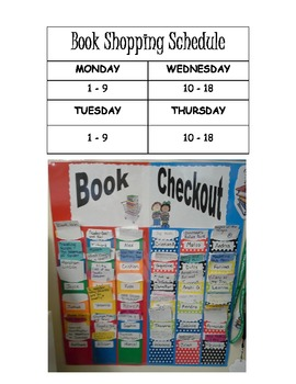 Classroom Library Labels and Organization