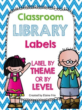 Classroom Library Labels for Bins & Books