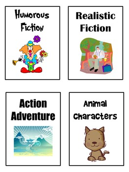 Classroom Library Labels for Chapter Books