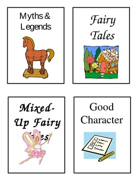 Classroom Library Labels for Picture Books