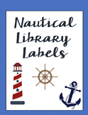 Classroom Library Labels for bins and books - EDITABLE