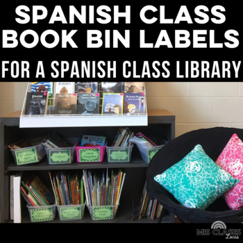 Classroom Library Labels in Spanish