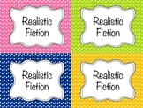 Classroom Library Labels (multi-colored)