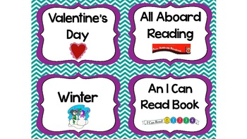 Classroom Library Labels/Book Basket Labels BUNDLE SET