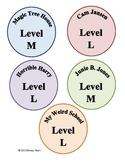 Classroom Library Leveled Tags