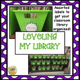 Book Labels - Classroom Library - Leveling My Library - Book Organization!
