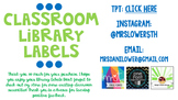 Classroom Library Levels