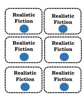 Classroom Library Labels with Literary Genres FREEBIE