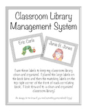 Classroom Library Management