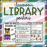 Classroom Library Mini Anchor Charts