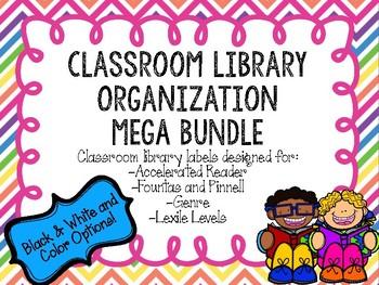 Classroom Library Organization MEGA BUNDLE