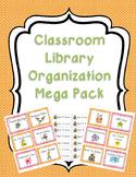 Classroom Library Organization Mega Pack