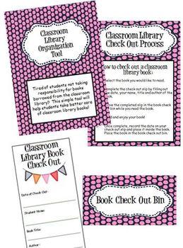 Classroom Library Organization Tool