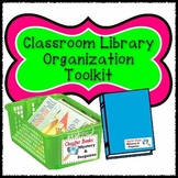 Classroom Library Organization Toolkit: Book and Basket Labels
