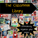 Classroom Library -- Organize and manage your books like a Pro! Scanner optional