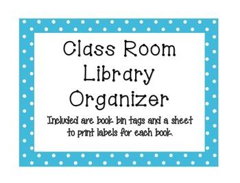 Classroom Library Organizer