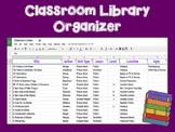 Classroom Library Organizer Spreadsheet
