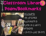 Classroom Library Poem/Bookmarks