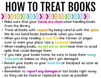 Classroom Library & Reading Expectations {Black & Brights Collection}