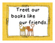 Classroom Library Rules- Cat Theme