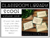 Classroom Library Scoot