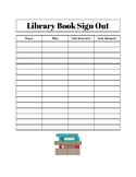 Classroom Library Sign-Out Page and Rules
