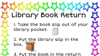 Classroom Library Signs