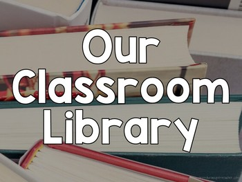 Classroom Library Slideshow to Introduce Genres Freebie